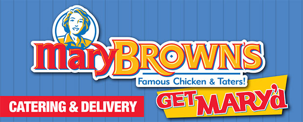 Mary Brown's Famous Chicken & Taters logo