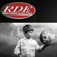 Red Deer Electric logo