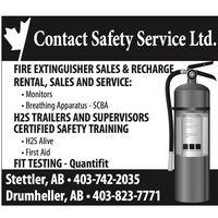 Contact Safety Service Ltd logo