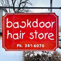 Back Door Hair Store logo