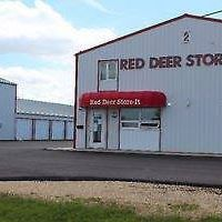 Red Deer Store-It logo