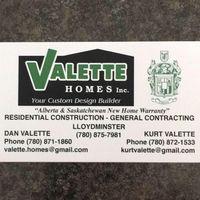Valette Homes logo