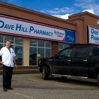Dave Hill Pharmacy logo