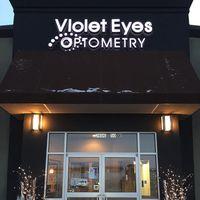 Violet Eyes Optometry logo
