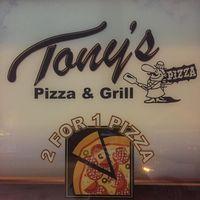 Tony's Pizza & Grill logo