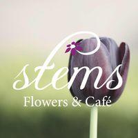 Stems Flowers & Cafe logo