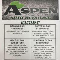 Aspen Auto Detailing logo
