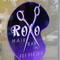 Roxo Hair Bar logo
