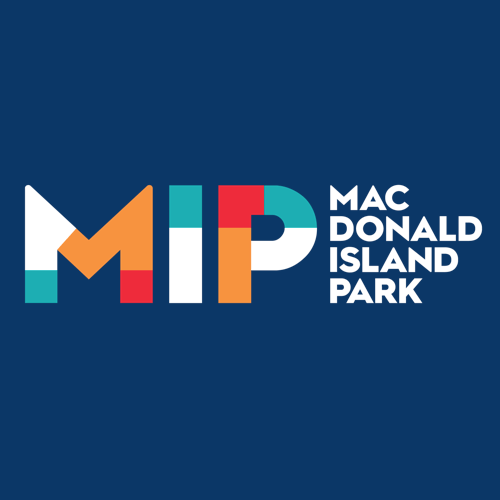 MacDonald Island Park logo