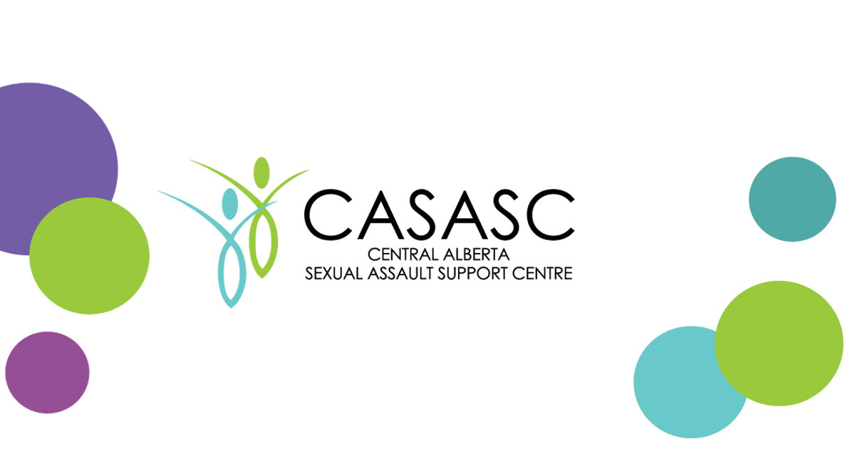 Central Alberta Sexual Assault Support Centre (CASASC) logo