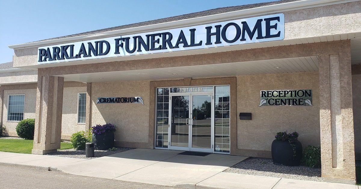 Parkland Funeral Home logo