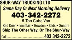 Shur-Way Trucking Ltd logo
