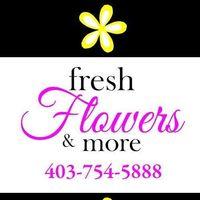 Fresh Flowers & More logo
