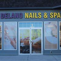 Delano Nails & Spa logo
