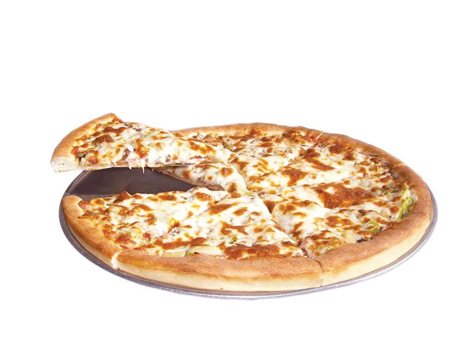 Vern's Pizza logo