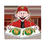 TJ's Pizza logo