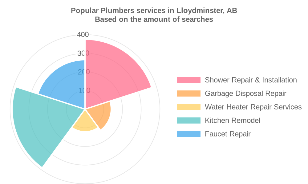 Popular services provided by plumbers in Lloydminster, AB