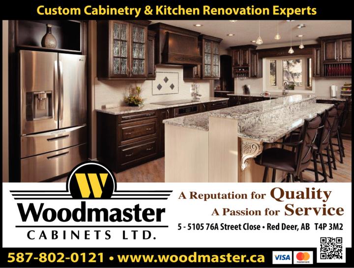 Print Ad of Woodmaster Cabinets Ltd