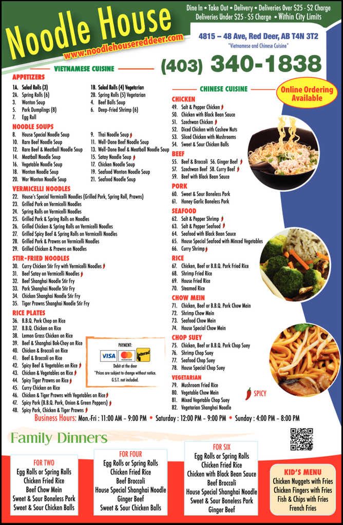 Print Ad of Noodle House