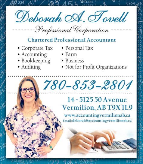 Print Ad of Deborah A Tovell Professional Corporation