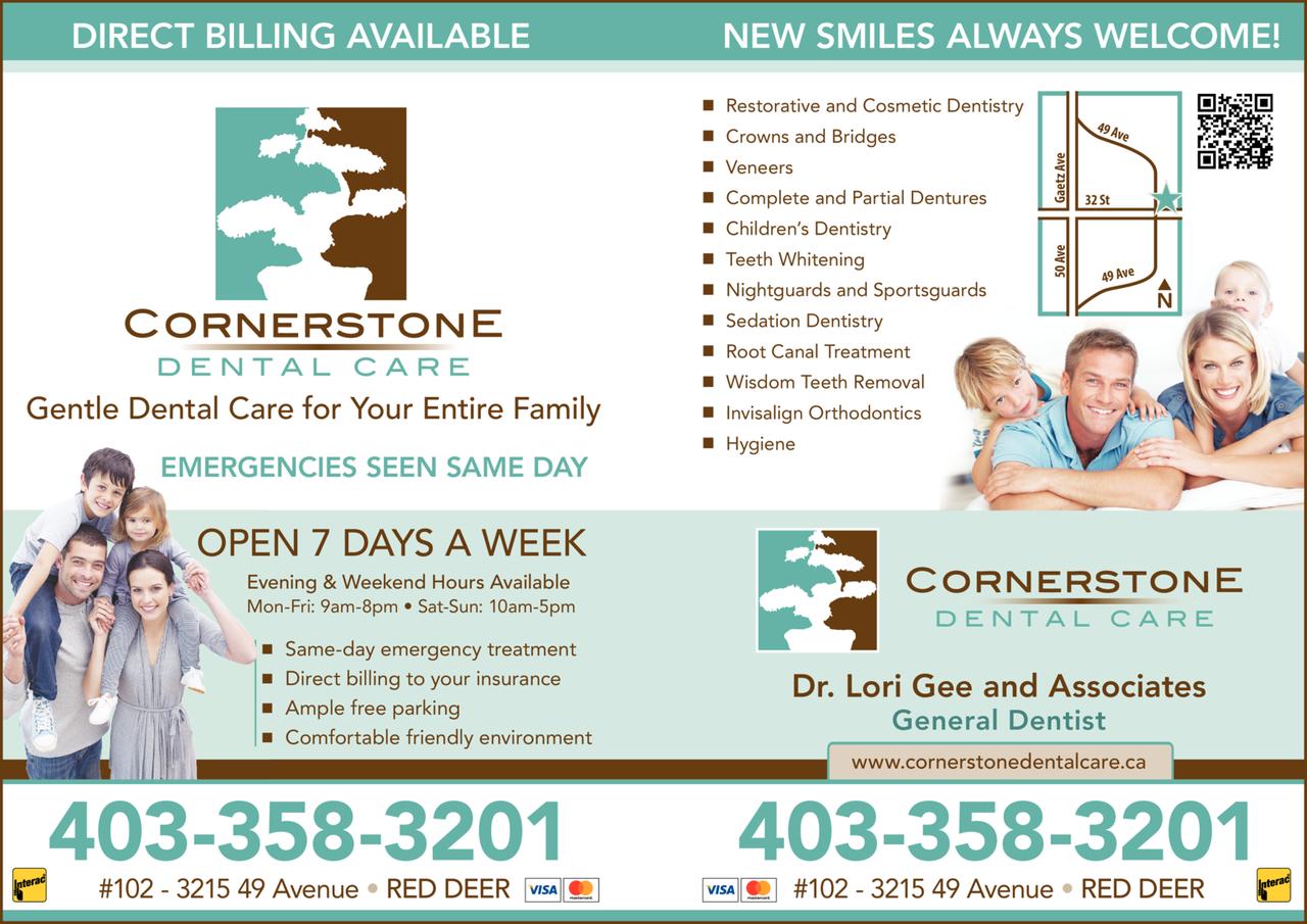 Print Ad of Cornerstone Dental Care