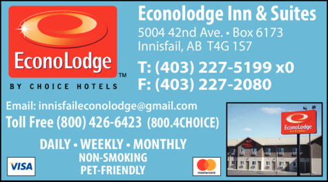 Print Ad of Econolodge Inn & Suites