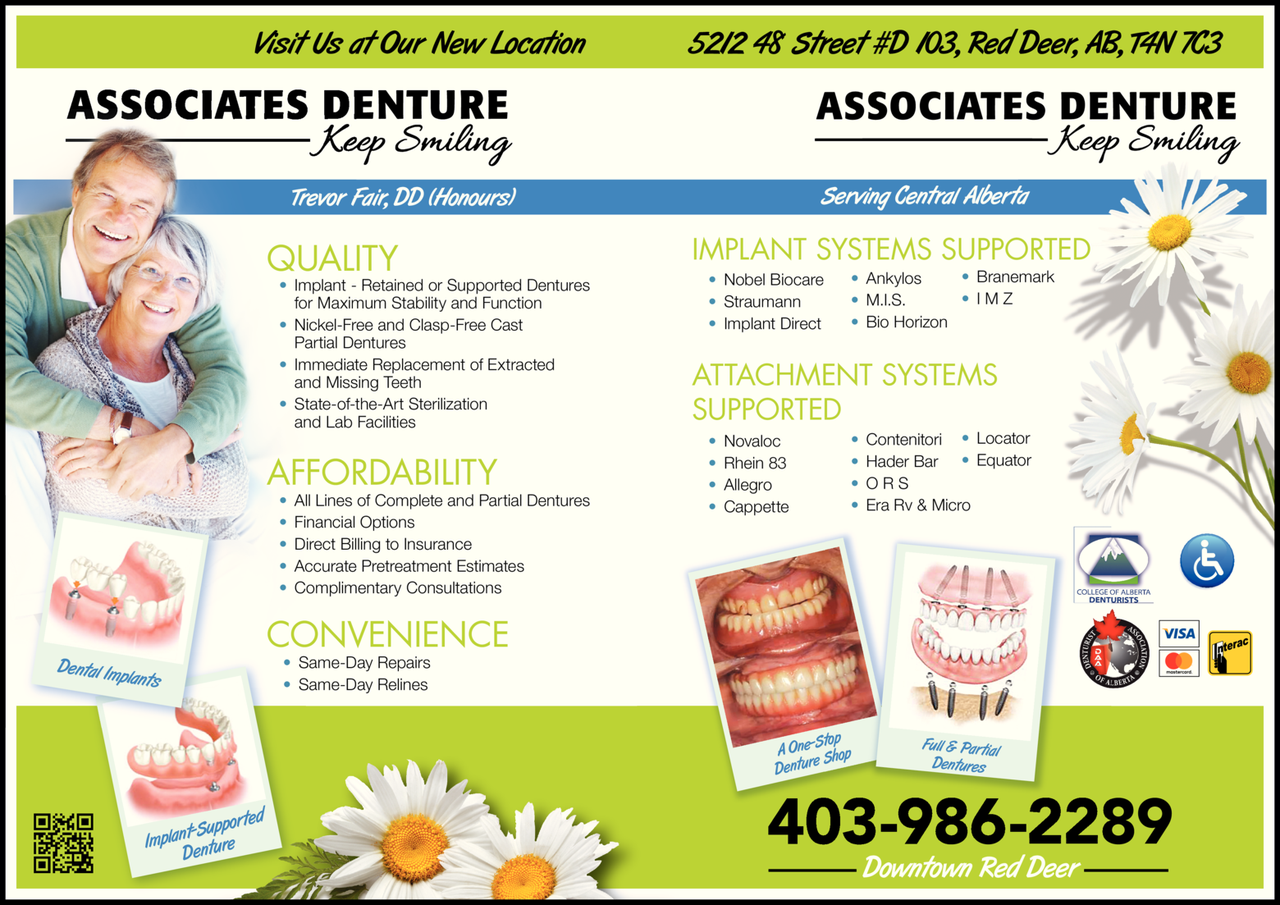 Associates Denture logo